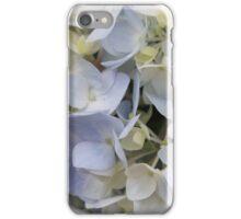 Delicate Hydrangeas iPhone Case/Skin
