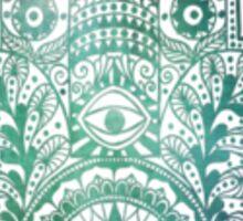 Lake Green Fatima Hand Sticker