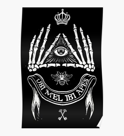 Ubi Mel Ibi Apes Poster