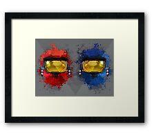 R v B Framed Print