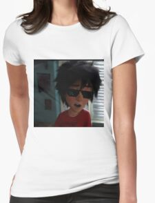 swag lord hiro hamada Womens Fitted T-Shirt