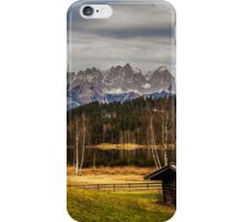 Mountain View, Austria iPhone Case/Skin