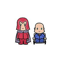 X-MEN - Magneto & Xavier Photographic Print