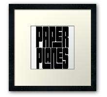 Paper Planes | OG Collection Framed Print