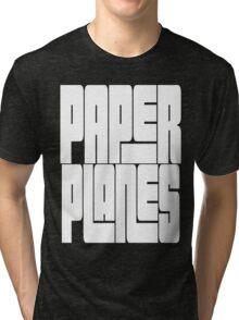 Paper Planes [White Ink] | OG Collection Tri-blend T-Shirt