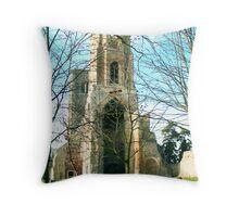 Wymondham Abbey Throw Pillow