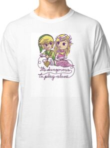 It's dangerous to play alone Classic T-Shirt