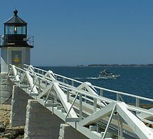 Marshall Point Lighthouse by Gene Cyr