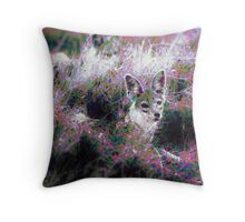 Jackal, Trickster Throw Pillow