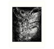 The Rock Face. Art Print