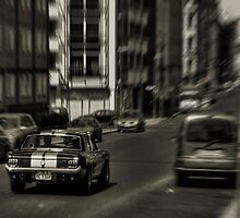 Mustang In Berlin by futureal33