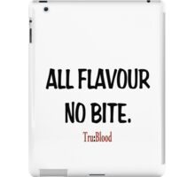 True Blood: All flavour no bite. Tru Blood iPad Case/Skin