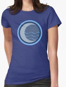 Minimalist Water Tribe Emblem Womens Fitted T-Shirt