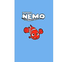 Pixel Retro Finding Nemo Photographic Print