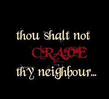 True Blood: thou shalt not crave thy neighbour by VamireBlood