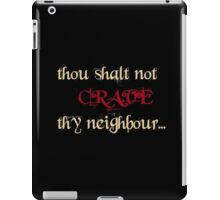 True Blood: thou shalt not crave thy neighbour iPad Case/Skin