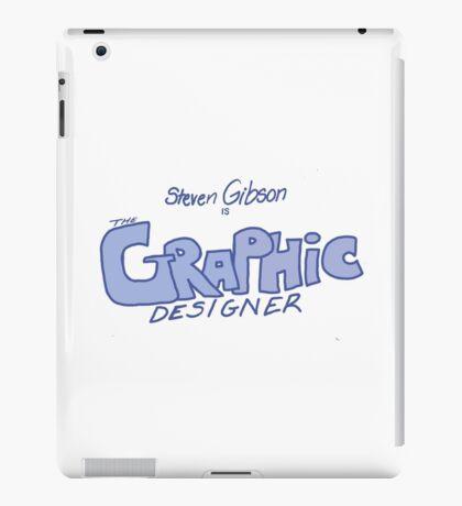 Graphic Designer Logo iPad Case/Skin