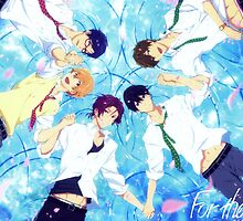 free iwatobi swim club by charlienitram44