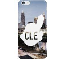 CLE Skyline Chief Wahoo iPhone Case/Skin