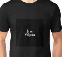 Les Miserables - Jean Valjean Unisex T-Shirt