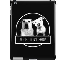 ADOPT DONT SHOP iPad Case/Skin