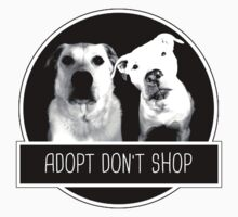 ADOPT DONT SHOP Baby Tee