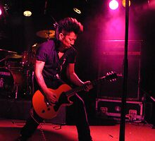 Jet UK Subs Guitar Player by qshaq