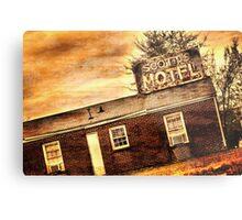 Scott's Motel Metal Print