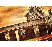 Scott's Motel Photographic Print