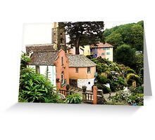 Portmeirion Painted Greeting Card