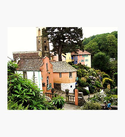 Portmeirion Painted Photographic Print
