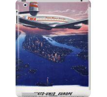 TWA Airplane iPad Case/Skin