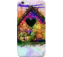 Baby Birdhouses iPhone Case/Skin