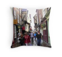 The Shambles Throw Pillow