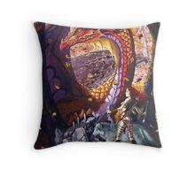 Highland Huntress Throw Pillow