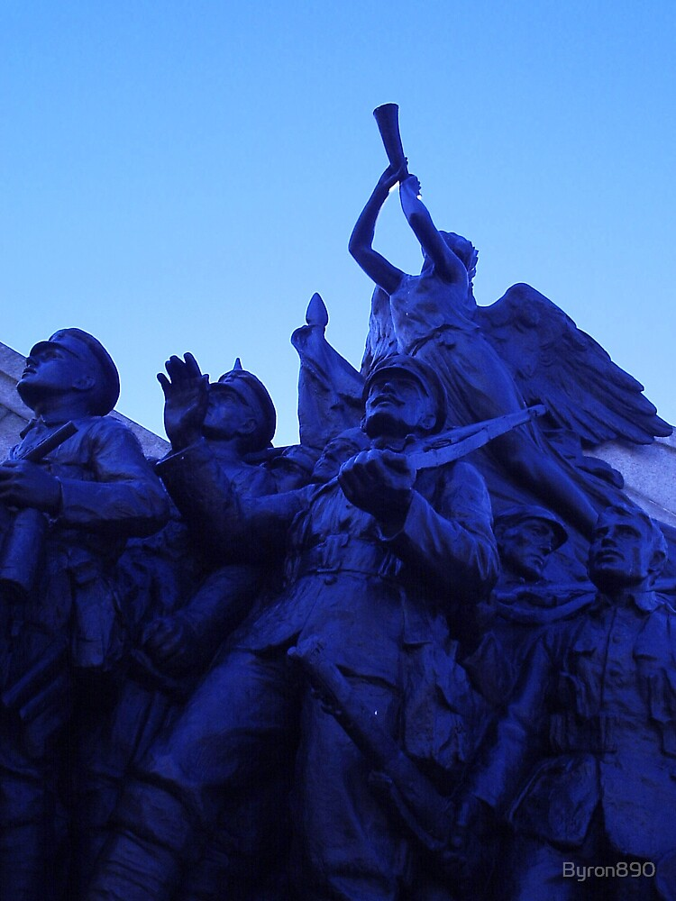Old Soldiers in Bronze  by Byron890
