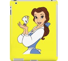 Belle and Chip iPad Case/Skin