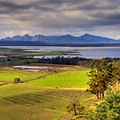 The Hazards: Tasmania, Australia by Colin  Ewington