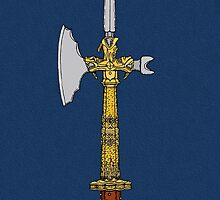 Poleaxe of Edward IV by Richard Fay