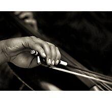 The cellist Photographic Print