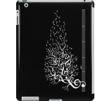 The Sound of Nature - White iPad Case/Skin