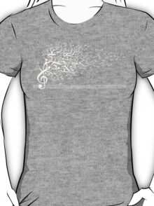 The Sound of Nature - White T-Shirt