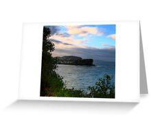 Bilgola - Sydney Beaches - THe HDR Series, Sydney Australia Greeting Card