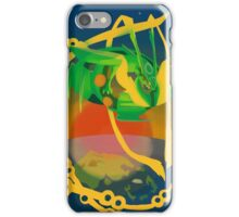 a rayquaza beyond all knowledge -  iPhone Case/Skin