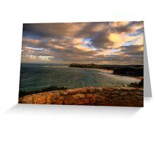 Wonder - Sydney Beaches - The HDR Series, Sydney Australia Greeting Card