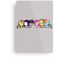 Pony Group Metal Print