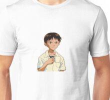 Shinji with a Coffee Mug Unisex T-Shirt