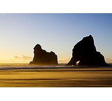 Wharariki Sunset Photographic Print