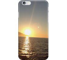 Washington sunset  iPhone Case/Skin