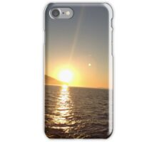 Washington sunset  iPhone Case/Skin